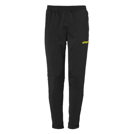 Score Track Pants Black / Fluo Yellow